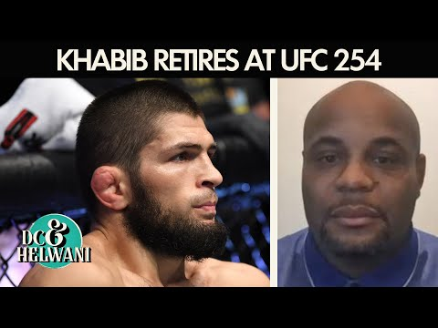Daniel Cormier reacts to Khabib Nurmagomedov's retirement at UFC 254 | DC & Helwani | ESPN MMA