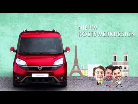 Nieuwe Fiat Doblò