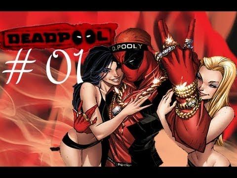 01# Pierwsze wytryski (humoru) - Deadpool Gemplej PL