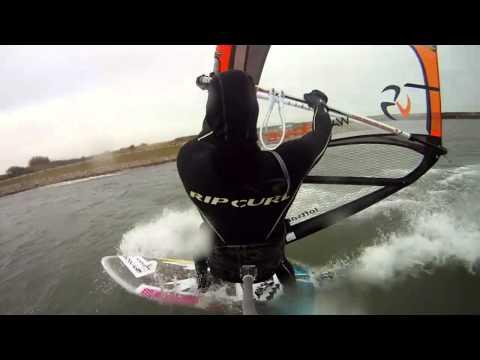 Windsurfing Grevelingenmeer 16-3-2013