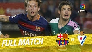 Video Full Match FC Barcelona vs SD Eibar LaLiga 2015/2016 MP3, 3GP, MP4, WEBM, AVI, FLV April 2019