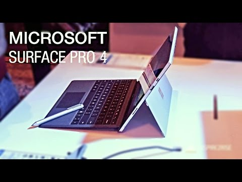Microsoft Surface Pro 4 hands on review