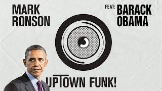 Barack Obama Singing Uptown Funk by Mark Ronson (ft. Bruno Mars)