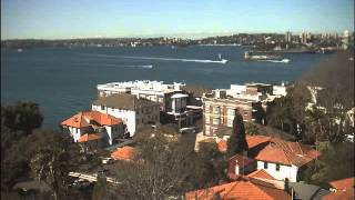 Sydney Webcam Time Lapse for Fri, 14th August 2015