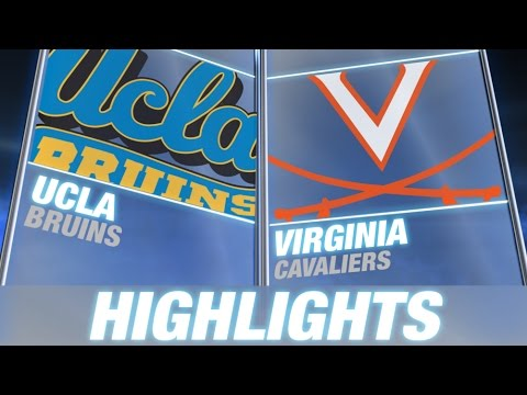 Virginia - Virginia put up a great fight against #7 UCLA in the season opener but the Bruins outlasted the Cavaliers 28-20. Virginia backup QB Matt Johns came into the game in the 2nd quarter and performed...