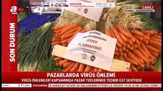 Zabıta Ekiplerimiz #koronavirüsüne Karşı Pazarlarda Denetimini Sürdürüyor- A Haber