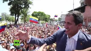Guaidó visita su ciudad natal como parte de su gira por Venezuela