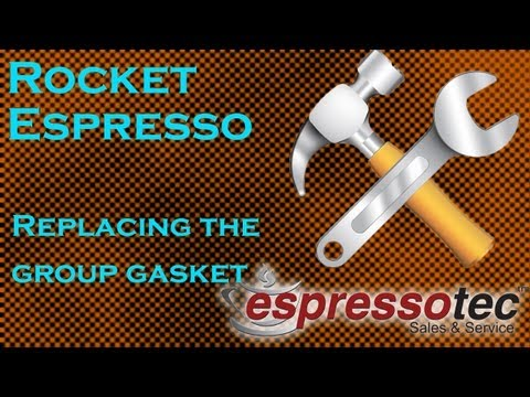 Rocket Espresso Machine Maintenance – Replacing The Group Gasket