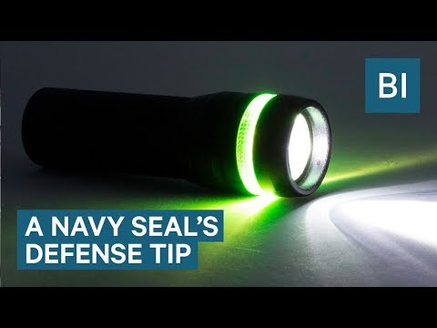 A Navy SEAL reveals why you should always carry a high-powered flashlight