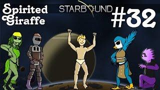 Starbound Multiplayer Gameplay  EP 32  Brandon Murders Pets  Spirited Giraffe