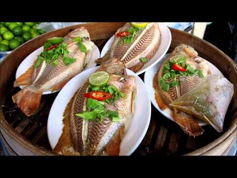 ALL THAI FOOD MARKET THAILAND , THE BEST THAI FOOD RECIPE