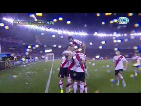 River Plate 3 – 0 Tigres Copa Libertadores 2015