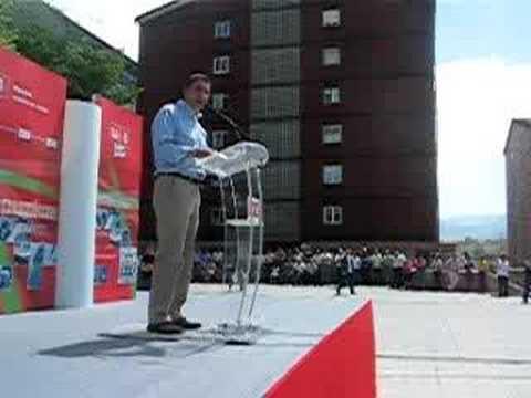 Municipales 2007 mitin en Renteria