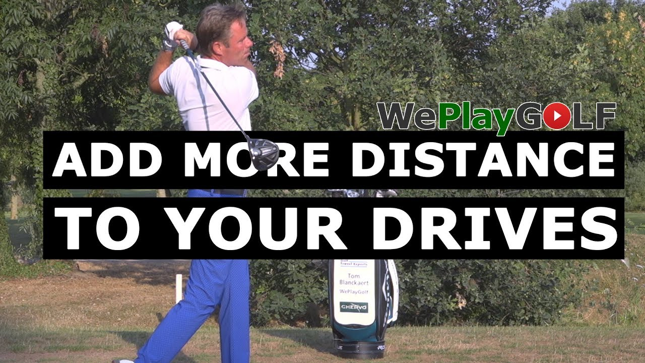 Add extra distance to your drives!