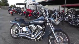 8. 055358 - 2003 Harley Davidson Softail Deuce FXSTD - Used Motorcycle For Sale