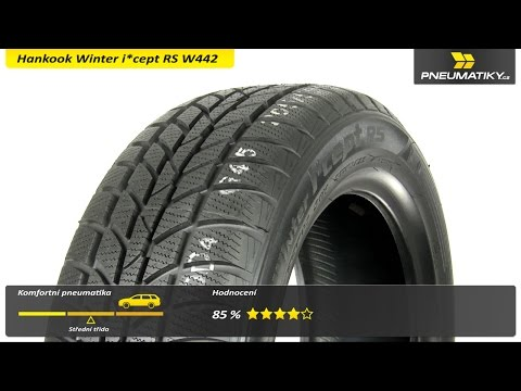 Youtube Hankook Winter i*cept RS W442 185/60 R15 88 T XL Zimní