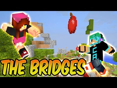 The Bridges With Gamer Chad - They Cross-teamed!!! - Minecraft Mineplex Minigame!