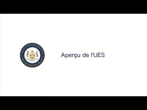 Arrêt sur image de la vidéo: Aperçu de l'UES