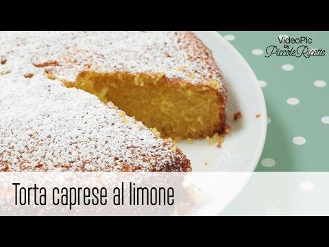 torta caprese al limone - ricetta