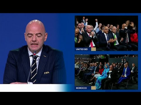 FIFA World Cup 2026: the winner is the united bid between Mexico, Canada and the United States!