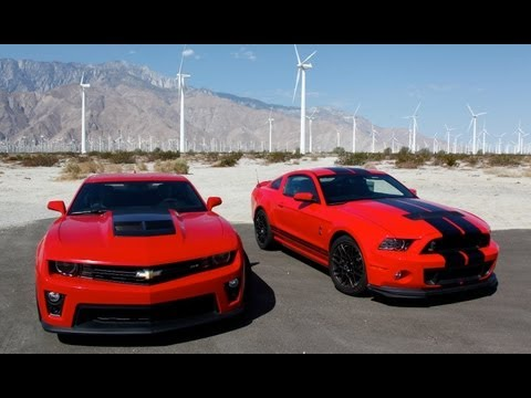 Camaro - On this episode of HOT ROD Unlimited, David Freiburger and Mike Finnegan hit the road in the hottest new muscle cars, the 2013 Shelby GT500 and the 2012 Chev...