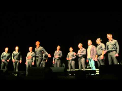 Straight No Chaser O Holy Night Off Mic with Ryan Ahlwardt 12-22-13 Indianapolis