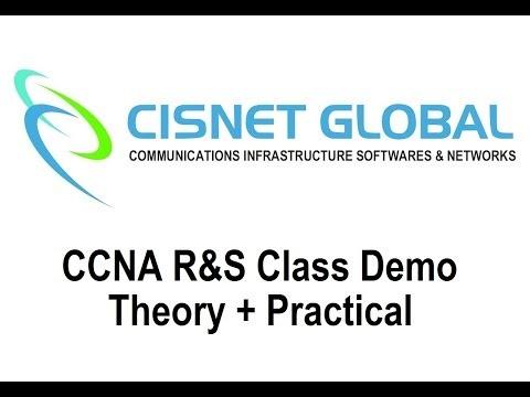CCNA R&S Class Demo