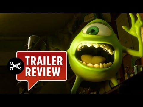 Instant Trailer Review – Monsters University NEW Trailer (2013) – Pixar Movie HD