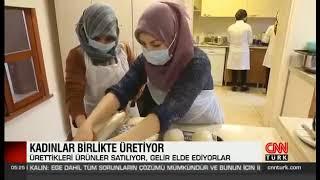Yenilikçi Ve Girişimci Kadınların Desteklenmesi Projesi - Cnn Türk