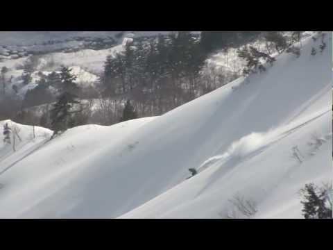 Miles Clark - 2013 Japan Highlight Ski Reel | Dangerously Deep Snow
