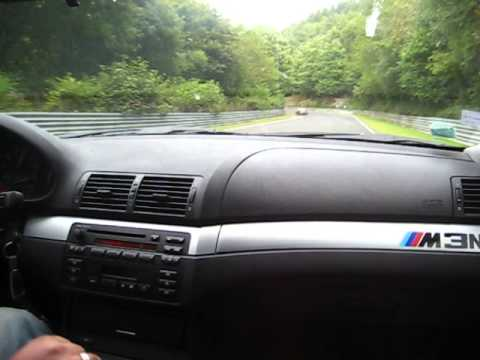 BMW 328Ci E46 On Nurburgring