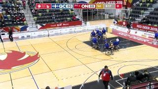 2019 CWG - Wheelchair Basketball - Game 19 - QC vs ON