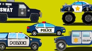 Video police cars | emergency vehicles | kids car cartoons MP3, 3GP, MP4, WEBM, AVI, FLV Desember 2017