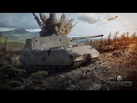 Panther/M10, Pz.Kpfw. IV Schmalturm, E75 и E100 ~ Tiberian39 [World of Tanks]