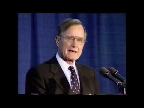 הנשיא בוש בן 94, לכבודו משחרר ה-CIA סרטון שמעולם לא פורסם