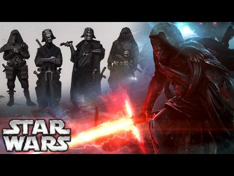 The Knights of Ren Origins: New Details Revealed - Star Wars: The Last Jedi
