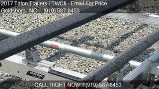 3. 2017 Triton Trailers LTWCII  for sale in Goldsboro, NC 27534
