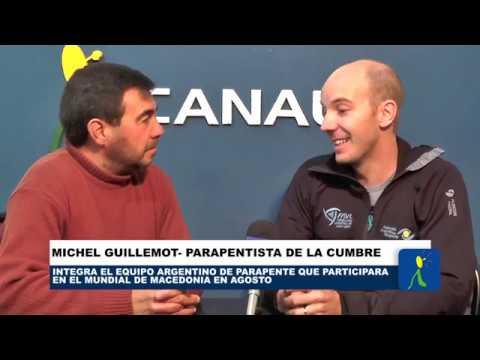 EL MUNDIAL DE PARAPENTE ES EN AGOSTO: MICHEL GUILLEMOT SE PREPARA PARA EL MUNDIAL EN MACEDONIA