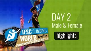 IFSC World Youth Championships Guangzhou Highlights Lead Qualifications by International Federation of Sport Climbing