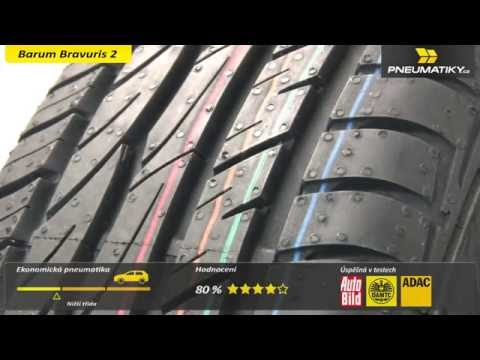 Youtube Barum Bravuris 2 195/60 R15 88 H Letní