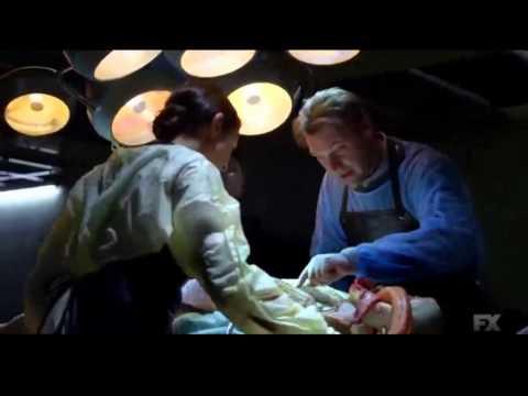 The Strain: Autopsy scene