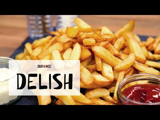 How To Make Quick, Crispy Chips | No Oil | 80% Less Fat | Duronic AF1 Air Fryer
