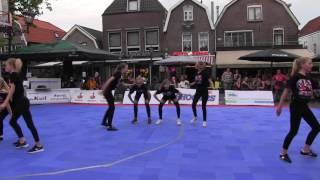 Streetdance op het Spuiplein