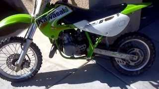 6. 2004 KX65 After Tune with NGK BR9ES & 91 Fuel.