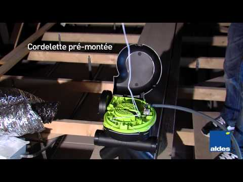 Vidéo Bahia Optima micro-watt EasyclipphoQ2 ventilation simple flux Aldes