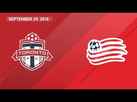 Video: Match Highlights: New England Revolution at Toronto FC - September 29, 2018