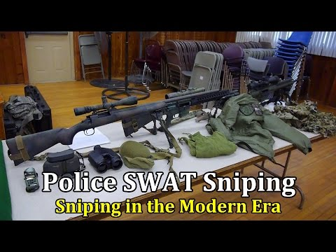 Police SWAT Sniping | Sniping in the Modern Era