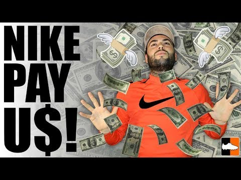 How Much Do Nike Pay Us?! (видео)