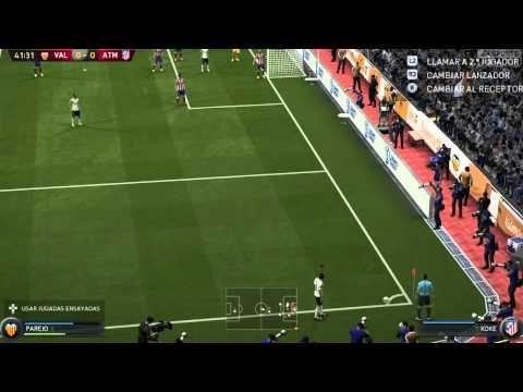 """FIFA 15 Modo Carrera Valencia (Ep.8) VS Atletico de Madrid """"Duelo de Leones"""""""