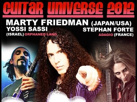 Stephan Friedman - Very cool tour diary that summarizes the amazing European Guitar Universe 2012 experience, featuring Marty Friedman, Yossi Sassi and Stephan Forte. Video and...